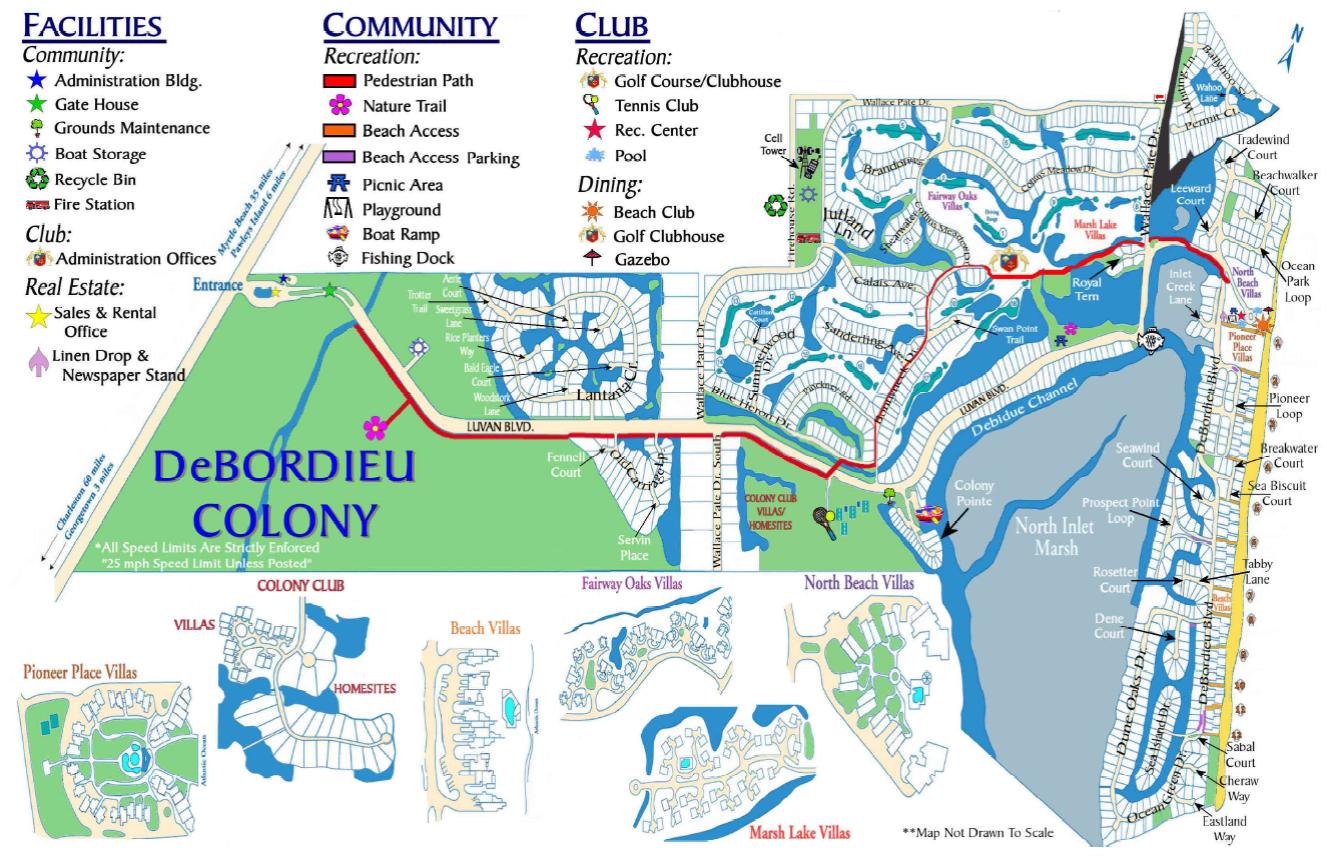 Debordieu Colony Homes For Sale Georgetown SC